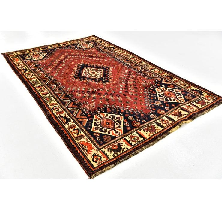 168cm x 267cm Ghashghaei Persian Rug