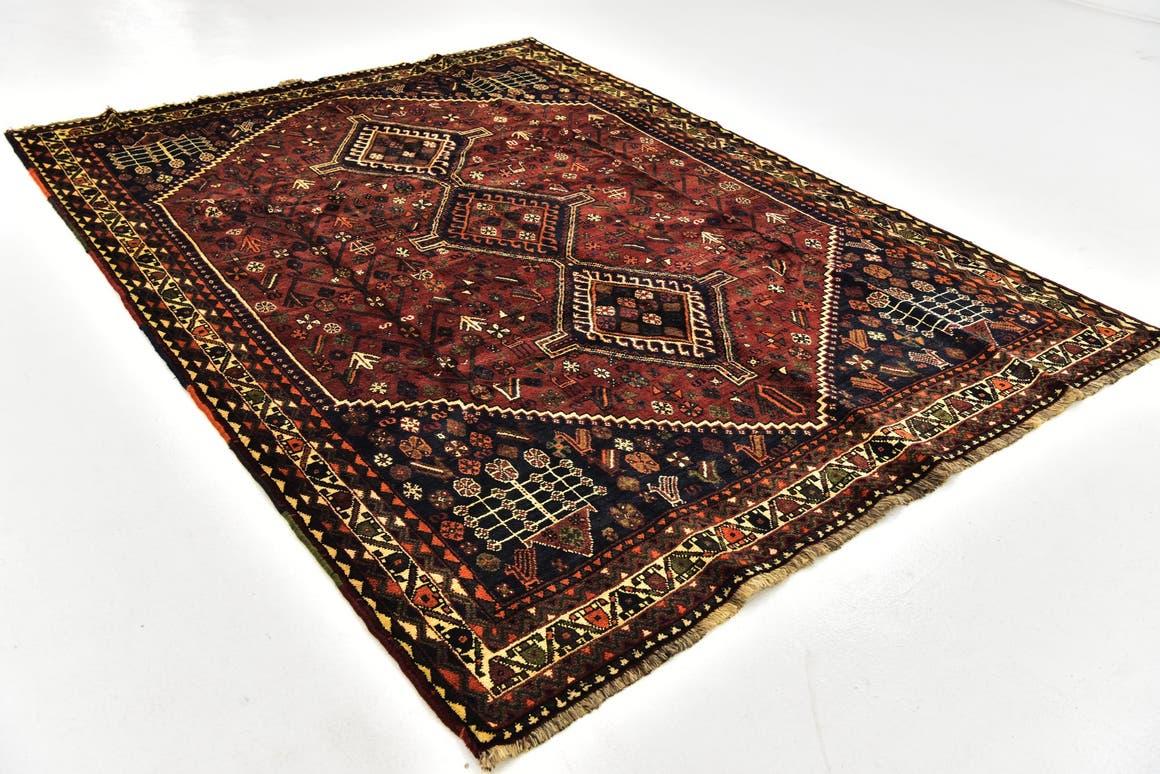 6' 10 x 9' 4 Ghashghaei Persian Rug main image