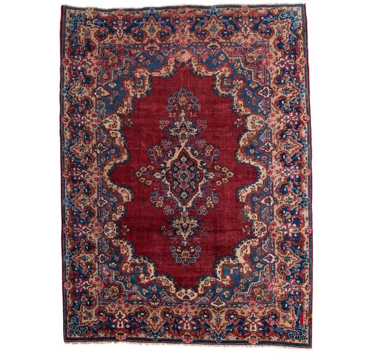 292cm x 395cm Mashad Persian Rug