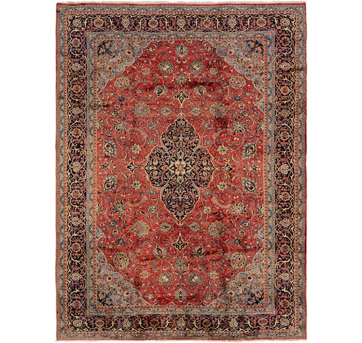 10' x 13' 7 Sarough Persian Rug