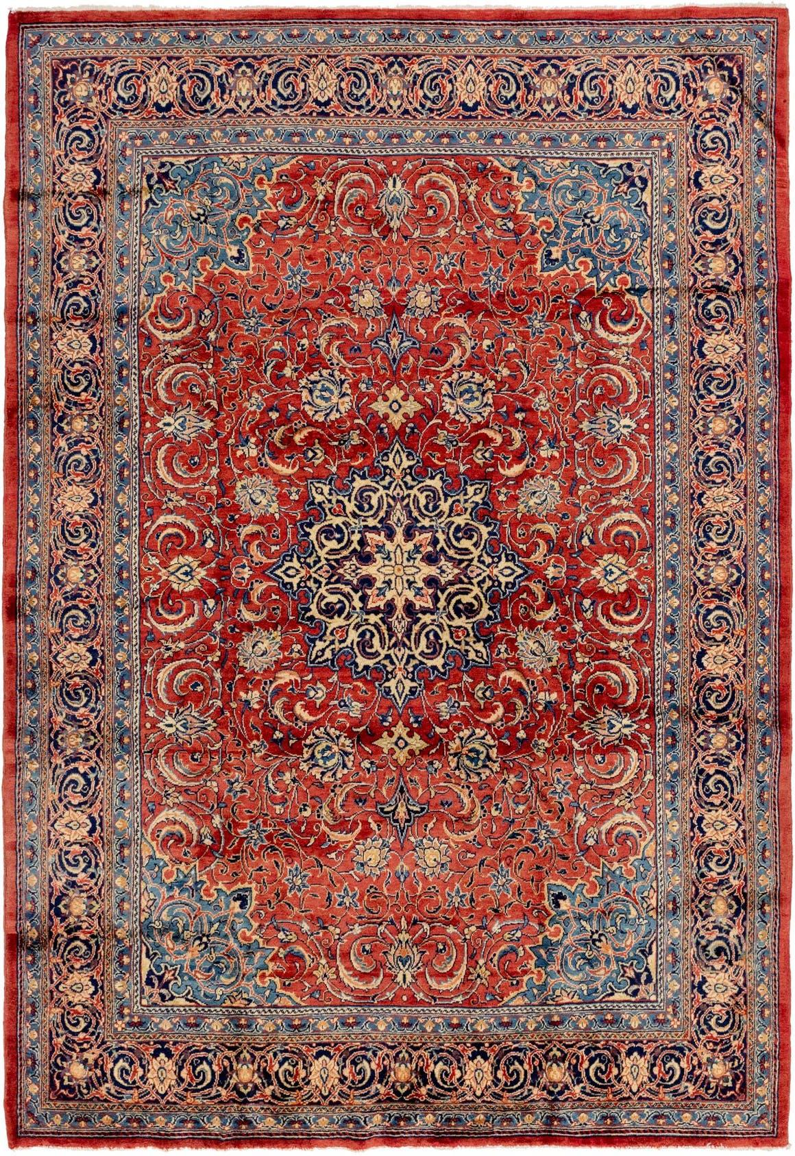 8' 7 x 12' 4 Sarough Persian Rug main image