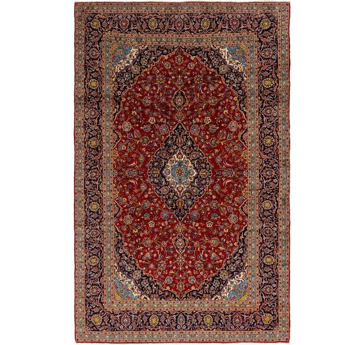297cm x 465cm Kashan Persian Rug
