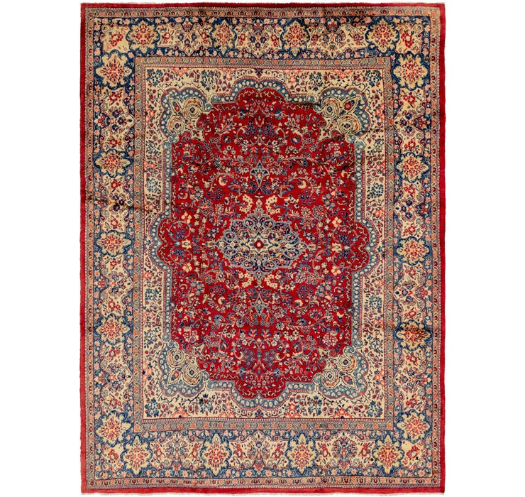 305cm x 415cm Meshkabad Persian Rug