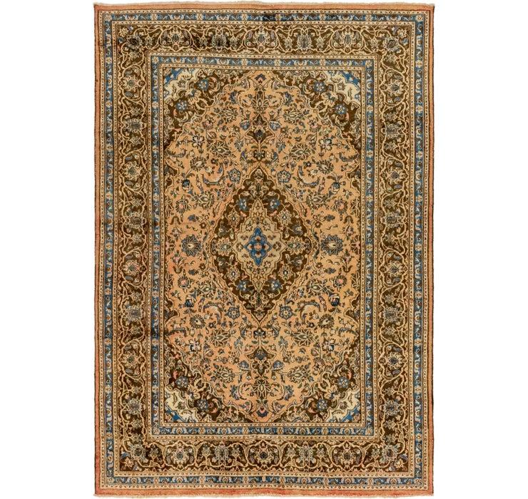6' 7 x 9' 7 Mashad Persian Rug