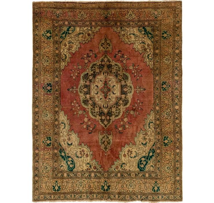 6' 10 x 9' Tabriz Persian Rug