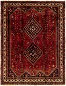 5' 3 x 6' 10 Ghashghaei Persian Rug thumbnail