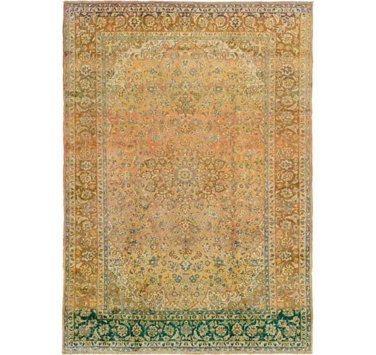 287cm x 405cm Mashad Persian Rug