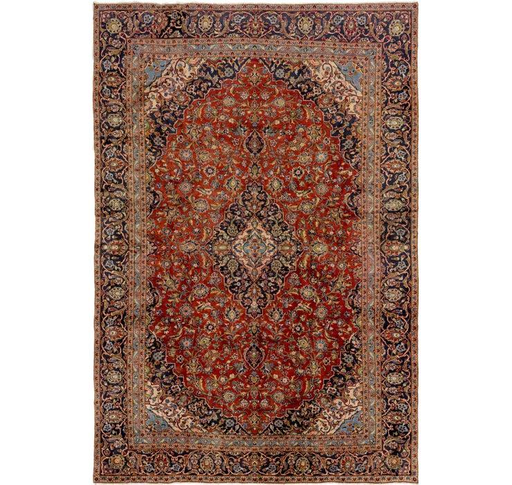 267cm x 385cm Kashan Persian Rug