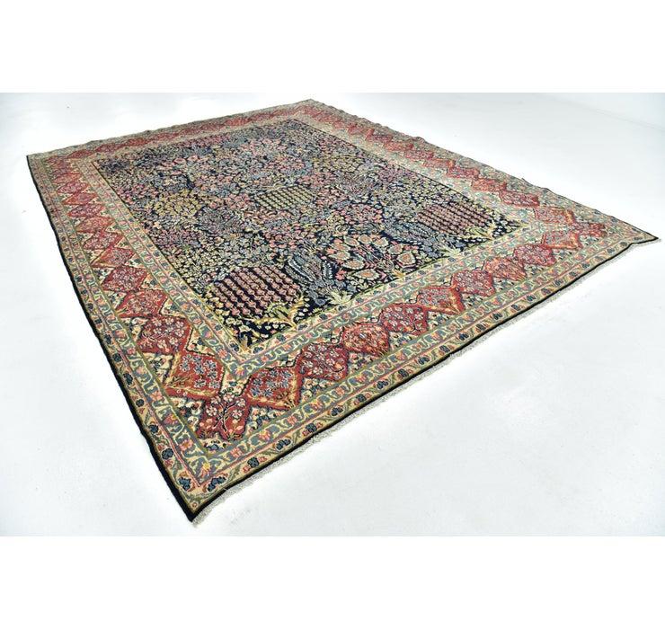 9' 8 x 12' 5 Kerman Persian Rug