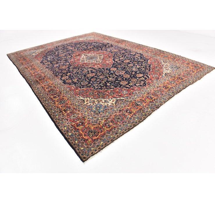 10' x 14' Kashan Persian Rug