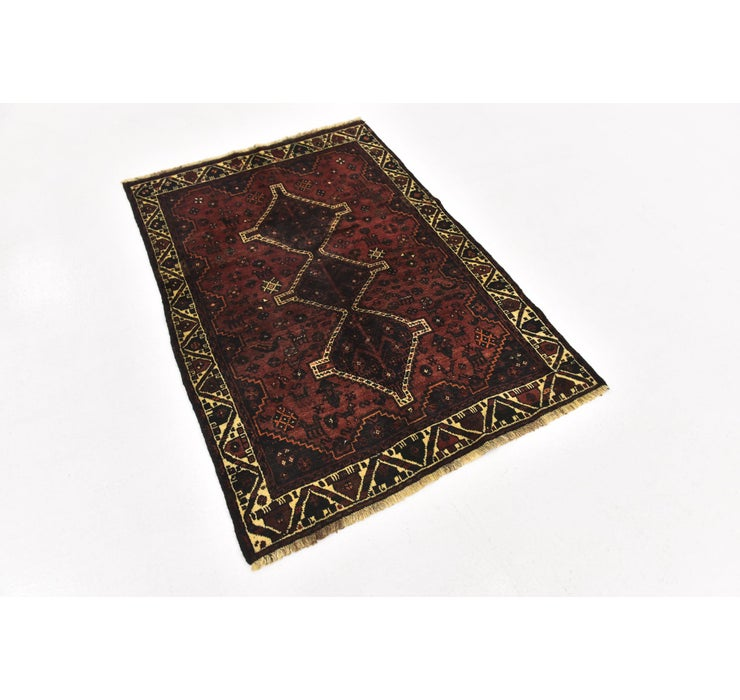 3' 9 x 5' 3 Ghashghaei Persian Rug