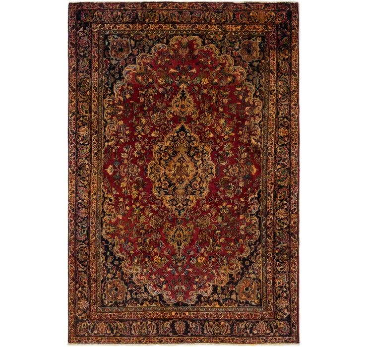 183cm x 275cm Mashad Persian Rug