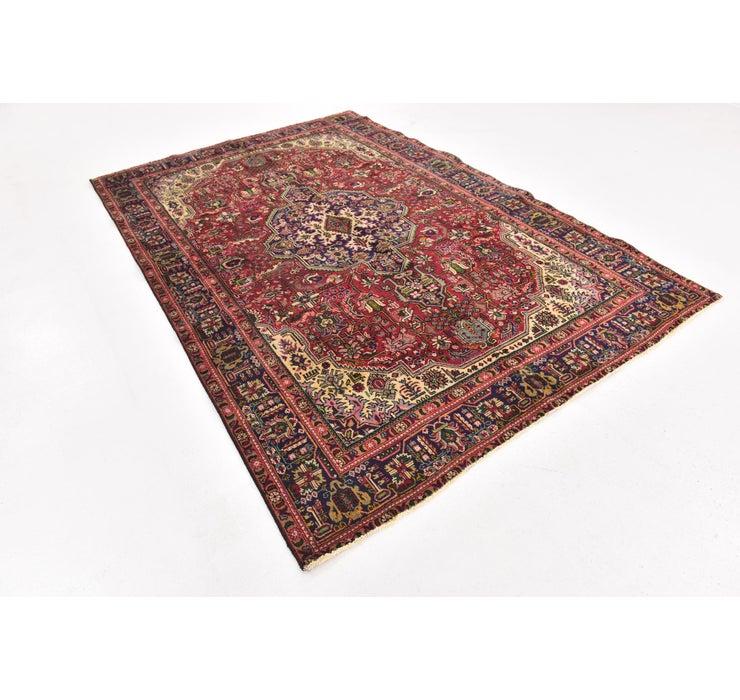 198cm x 295cm Tabriz Persian Rug