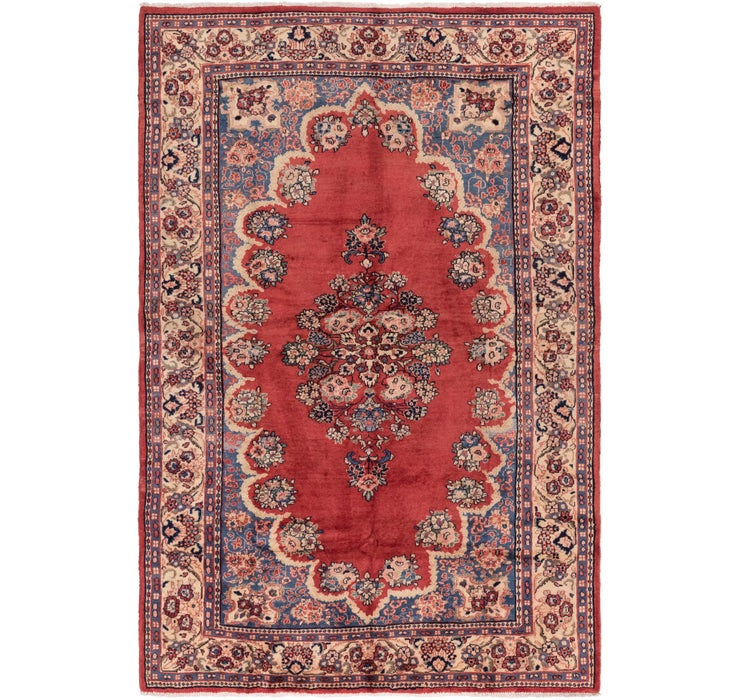 6' 10 x 10' 6 Meshkabad Persian Rug