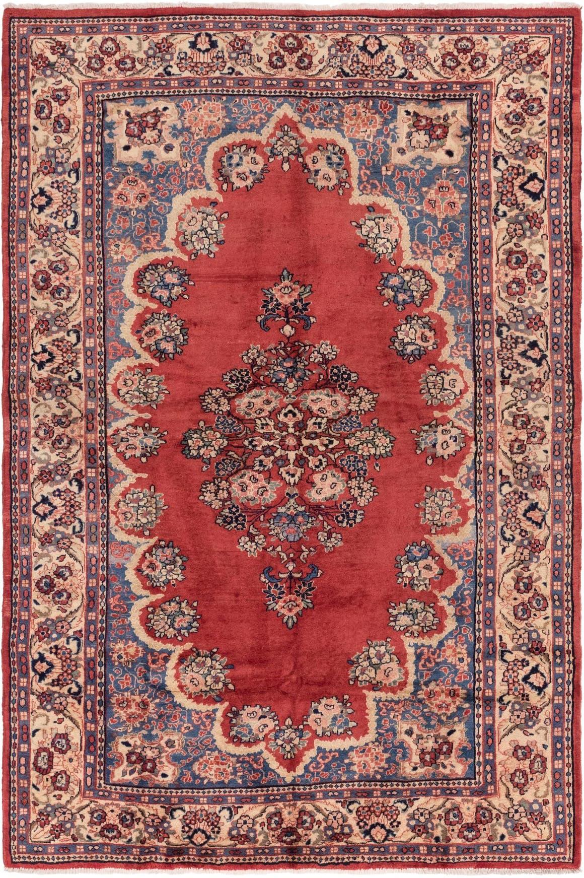6' 10 x 10' 6 Meshkabad Persian Rug main image