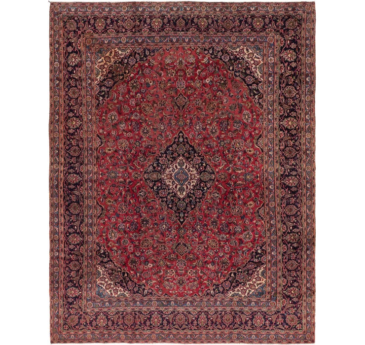 290cm x 373cm Mashad Persian Rug
