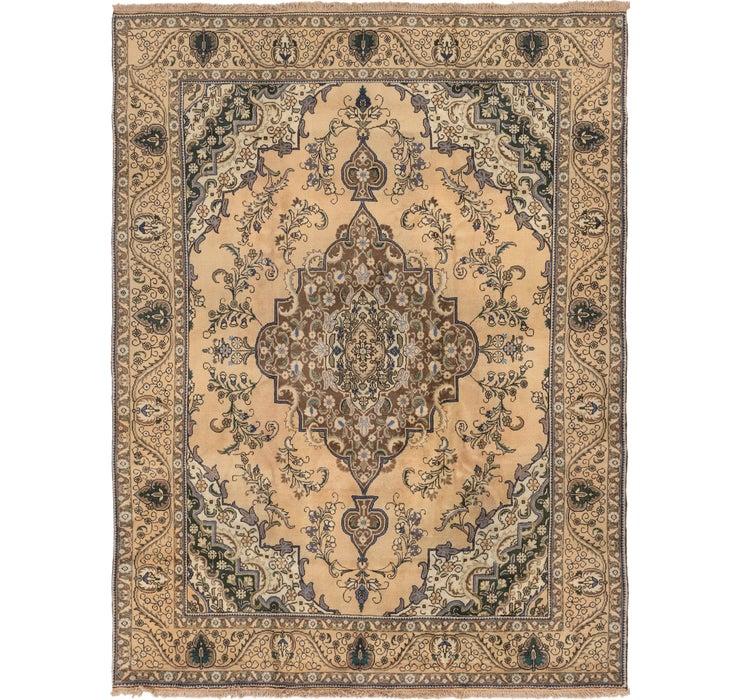 292cm x 395cm Tabriz Persian Rug