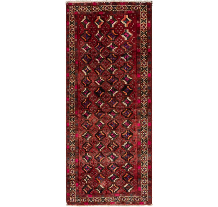 127cm x 310cm Shiraz Persian Runner Rug