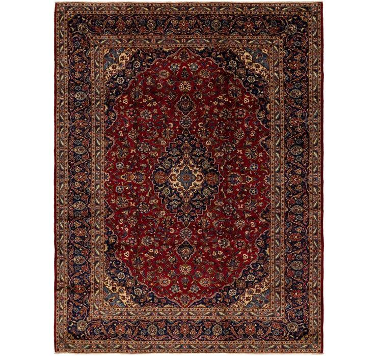 300cm x 385cm Kashan Persian Rug