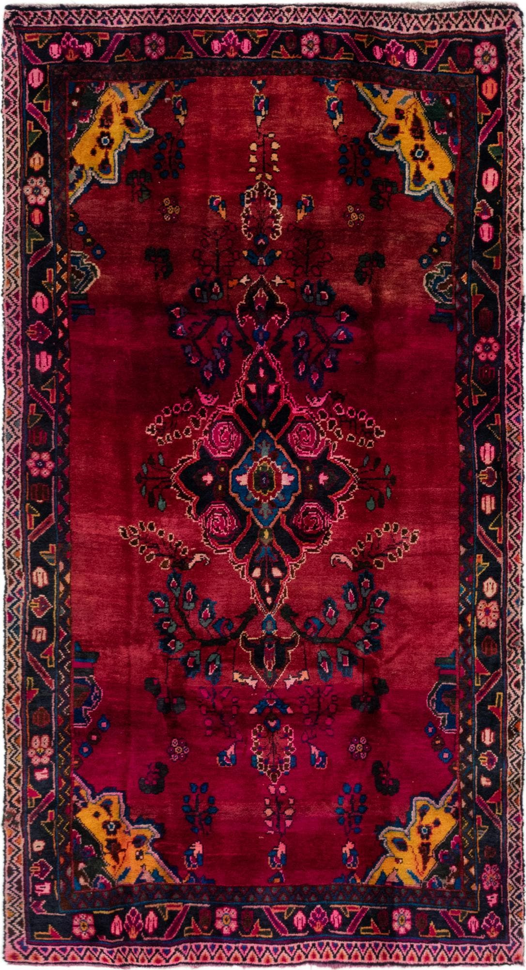 4' 10 x 8' 10 Gholtogh Persian Rug main image