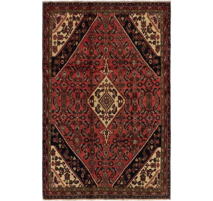 5' 8 x 8' 8 Hamedan Persian Rug