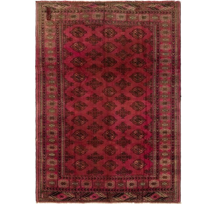 200cm x 275cm Torkaman Persian Rug