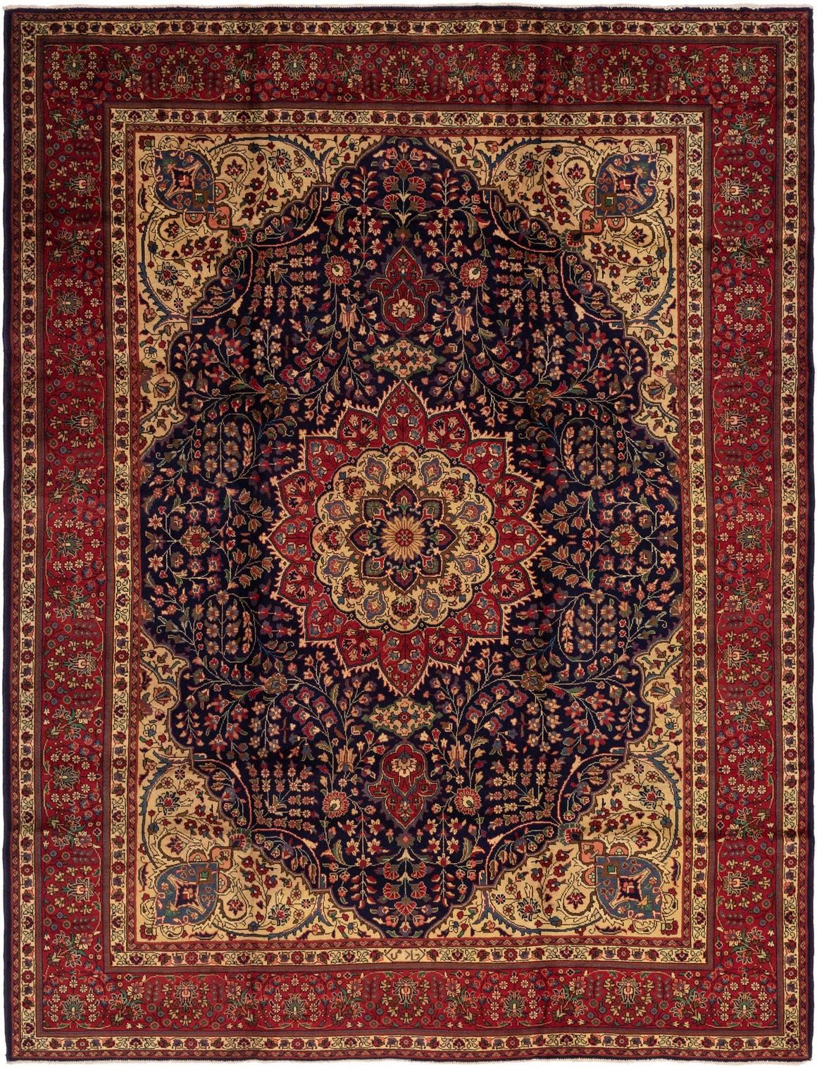 10' x 13' Tabriz Persian Rug main image