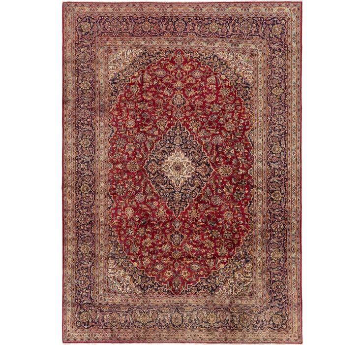 240cm x 335cm Kashan Persian Rug