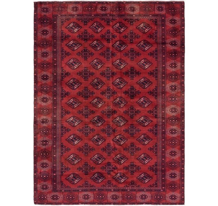 198cm x 270cm Torkaman Persian Rug