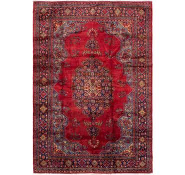 Image of 7' 10 x 11' 4 Golpayegan Persian Rug