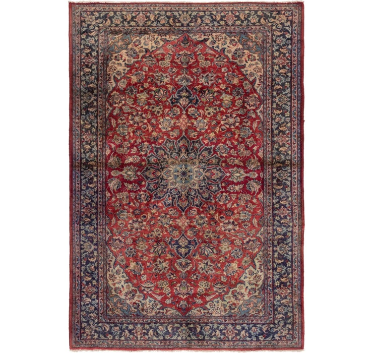 200cm x 297cm Isfahan Persian Rug