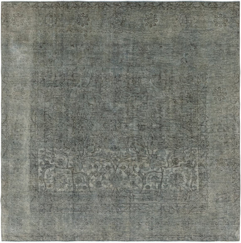 9' 4 x 9' 6 Ultra Vintage Persian Square Rug main image