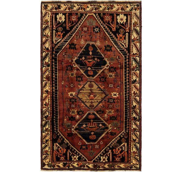 157cm x 270cm Ghashghaei Persian Rug
