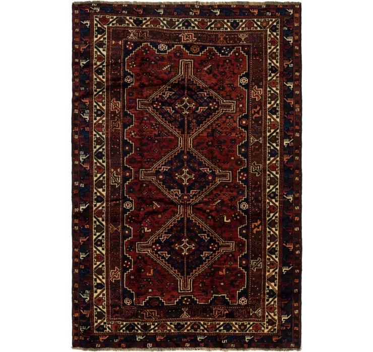 5' 5 x 8' 2 Ghashghaei Persian Rug