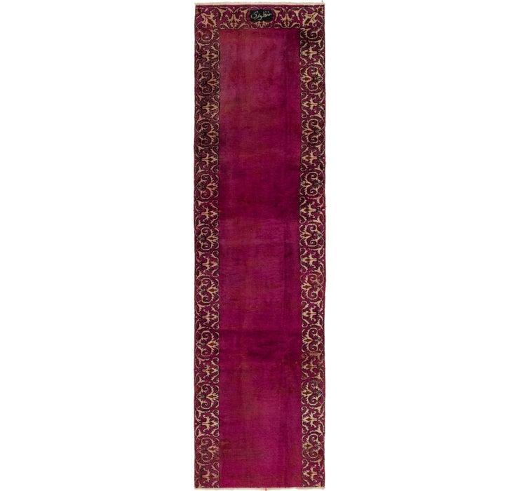 80cm x 300cm Tabriz Persian Runner Rug