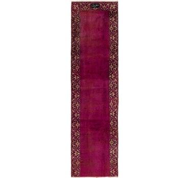 2' 8 x 9' 10 Tabriz Persian Runner Rug main image
