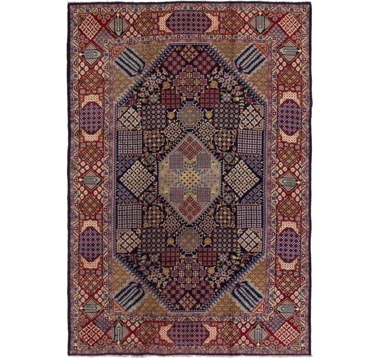 9' 5 x 13' 8 Isfahan Persian Rug
