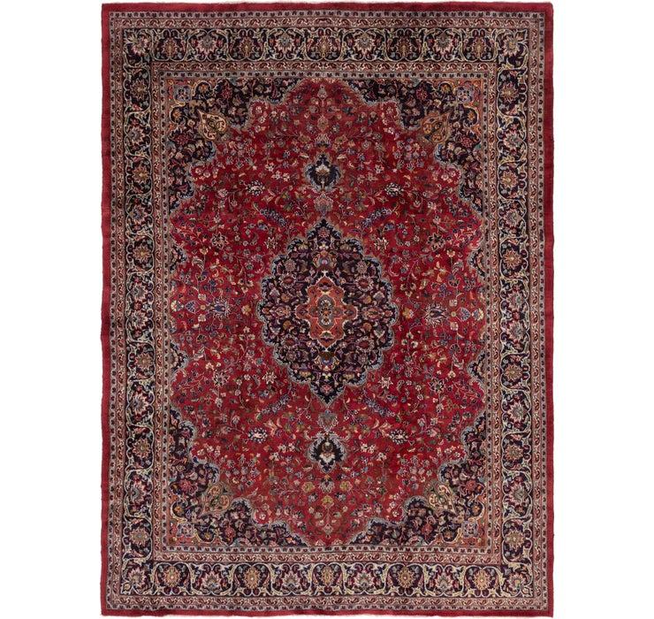 292cm x 390cm Mashad Persian Rug