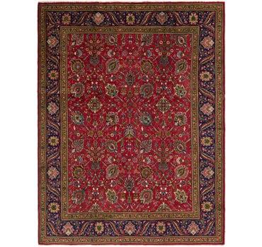 10' x 12' 10 Tabriz Persian Rug main image