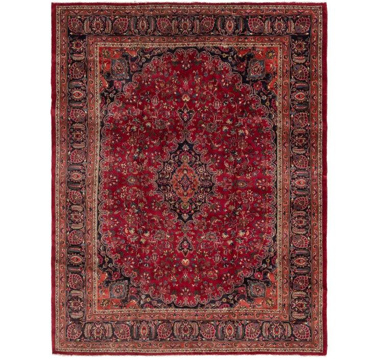 10' x 12' 8 Mashad Persian Rug