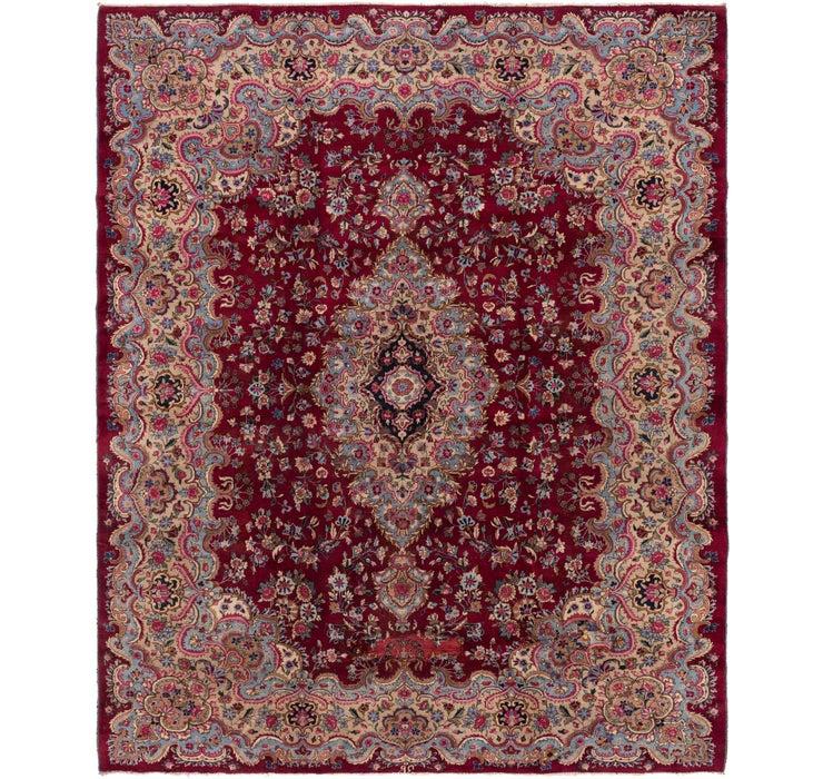 310cm x 365cm Kerman Persian Rug