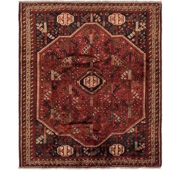 5' 10 x 6' 8 Ghashghaei Persian Rug main image