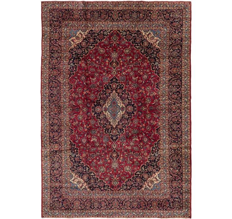 10' x 14' 6 Kashan Persian Rug