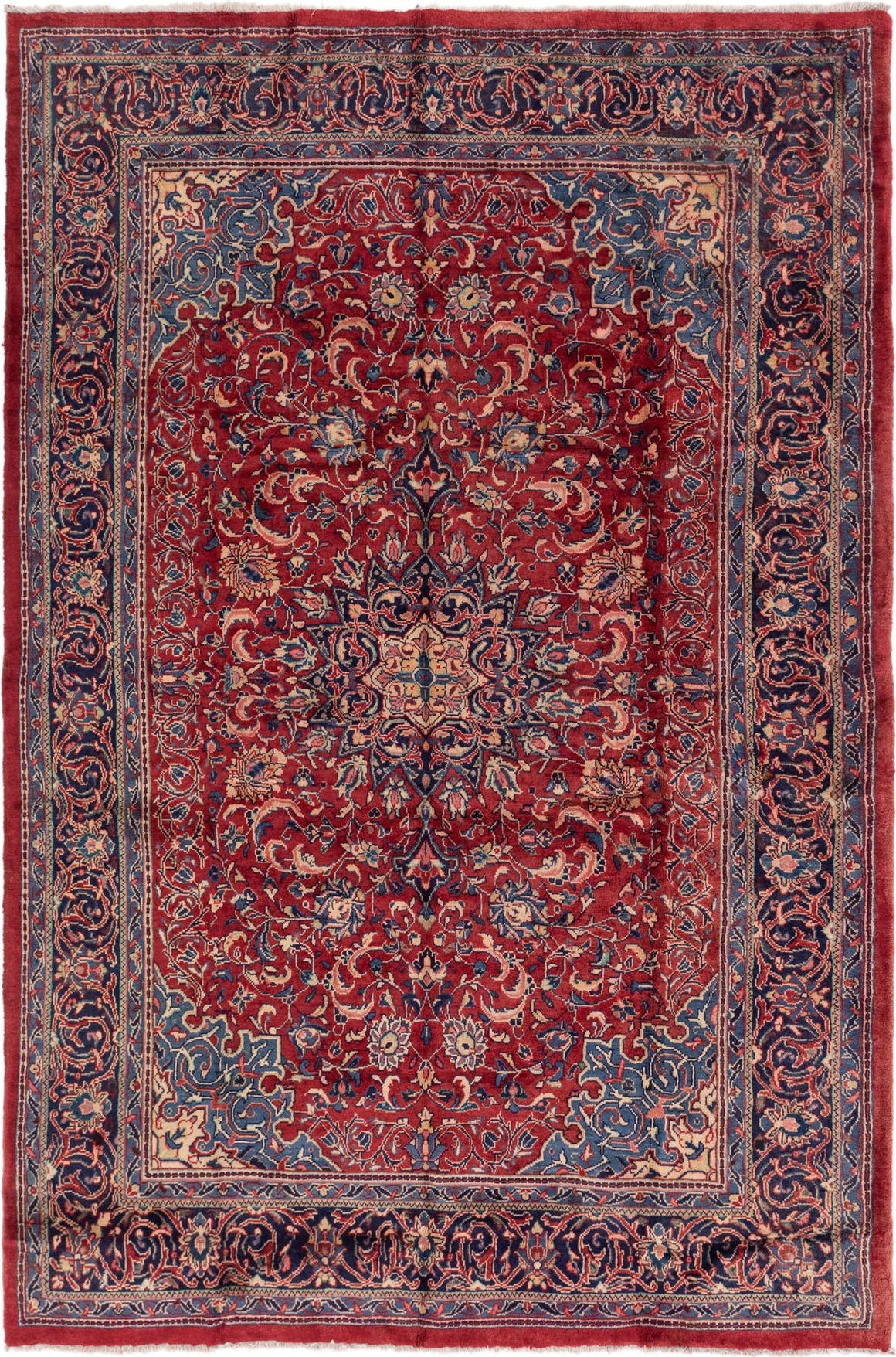 7' 2 x 10' 9 Sarough Persian Rug main image