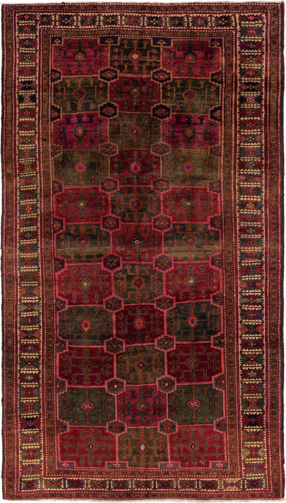 6' 6 x 11' 7 Shiraz Persian Rug main image