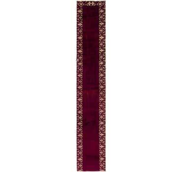 Image of 2' 3 x 14' 9 Tabriz Persian Runner Rug