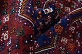 3' 3 x 4' 8 Shiraz Persian Rug thumbnail