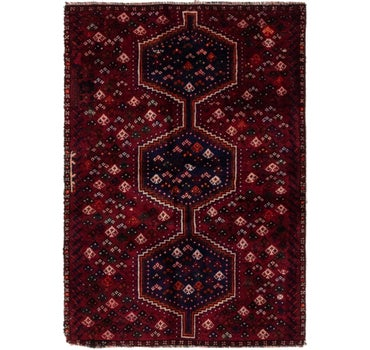 3' 3 x 4' 8 Shiraz Persian Rug main image