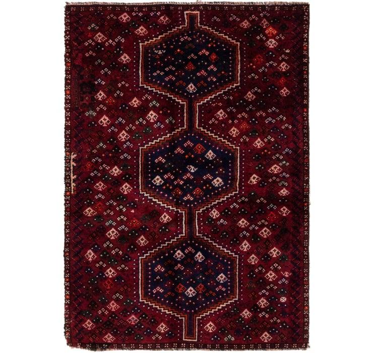 3' 3 x 4' 8 Shiraz Persian Rug
