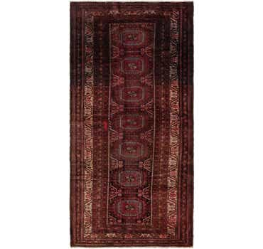 3' 7 x 7' 4 Anatolian Oriental Runn...
